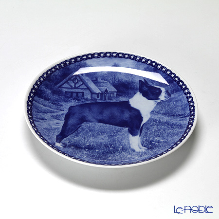 Scan Lekven 'Dog / Boston Terrier' 7419 Plate 19.5cm