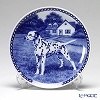 Dog Plate T/7422 Dalmatian with hunger Wall Mount hooks with Dalmatian