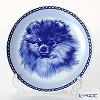 Dog plate T/7537 Pomeranian