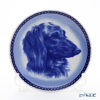 Dog plate T/7553 Longhaired dachshund
