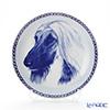 Dog plate T/7558 Afghan Hound