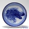 Dog plate T/7559 Borzoi