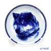 Dog Plate T/7564 Shiba inu with hunger Wall Mount hooks with Shiba Inu