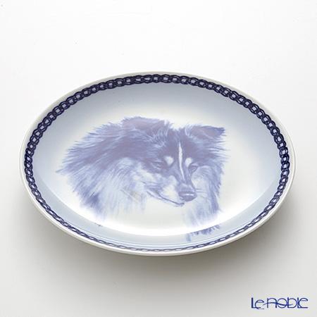 "Dog plate T/7565 Shetland Sheepdog ""wall hook included"