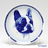 Dog Plate T/7568 French Bulldog with hunger Wall Mount hooks with French Bulldogs