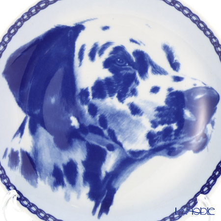 """Dog plate T/7580 Dalmatian """"wall hook included"""
