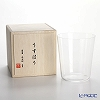 Shotoku Glass 'Usuhari' OF Tumbler 400ml (L / with wooden box)