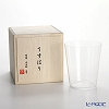 Shotoku Glass 'Usuhari' OF Tumbler 280ml (M / with wooden box)