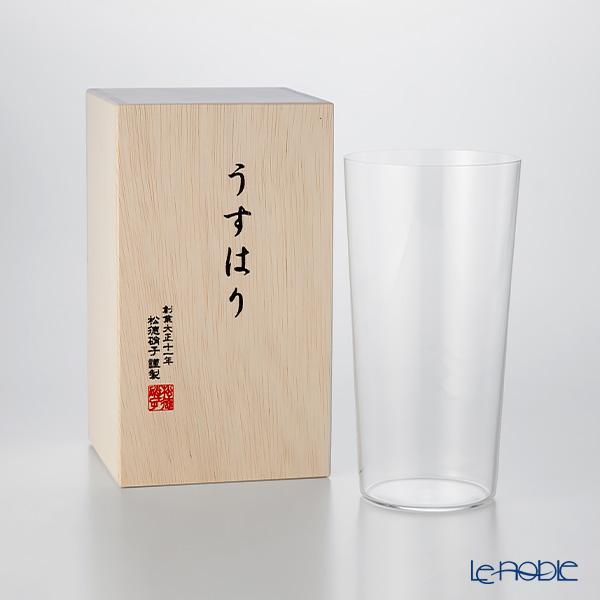 松徳硝子 うすはり タンブラー(LL) 【木箱入】