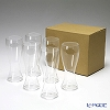 Shotoku Glass Usuhari  Beer Pilsner SC 2501001 6 pieces with service box