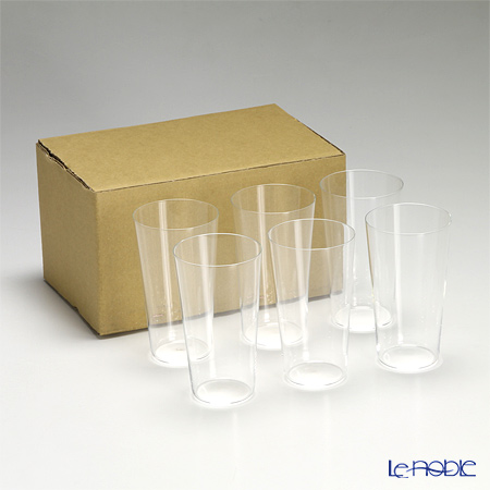 Shotoku Glass 'Usuhari' Tumbler 250ml (M / set of 6 with service box)
