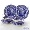Spode Blue Italian Plate 20 cm and Tea Cup & Saucer (Set of 2)