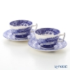 Spode Blue Italian Teacup & Saucer (Set of 2)