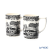 Spod 'Black Italian' [250th Anniversary Collection] Mug 340ml (set of 2)