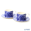 Spodo 'Blue Room Sunflower' Tea Cup & Saucer 280ml (set of 2)