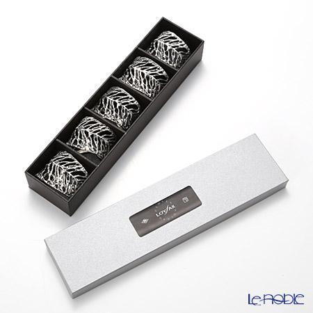 Loyfar 'Dry Leaf' [Pewter] 3 x 5 x 4.5 cm leaf pewter NK011 with branded box