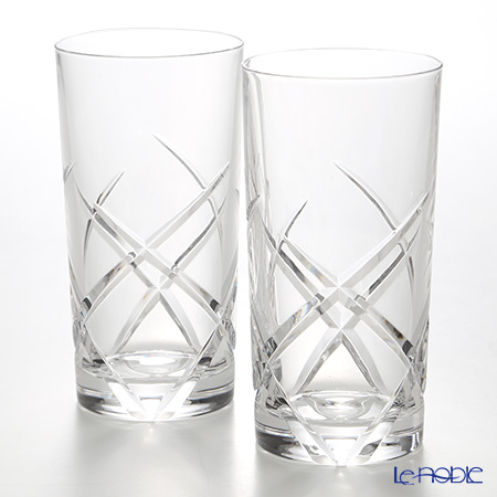 Crystal Worlds Selection spiral Tumbler 400 ml LUXION pair