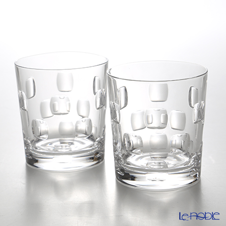 Crystal Worlds Selection dots Pair OF 330ml LUXION