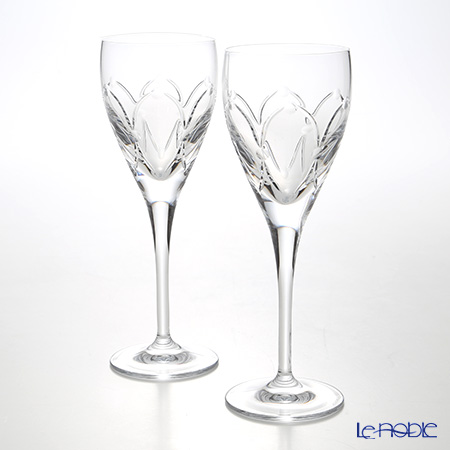 Waterford (Waterford) Renaissance Crystal cameo Wine 170 ml LUXION pair