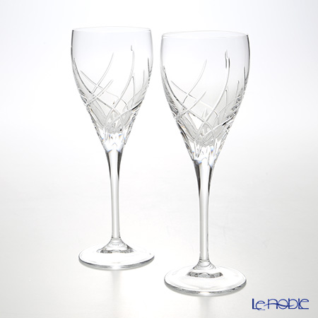Francesca worlds Crystal Selection White wine 250 ml LUXION pair