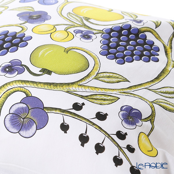 Kuovi 'Paratiisi Orchard' Colorful Cushion Cover (Cotton 100%) with Cushion