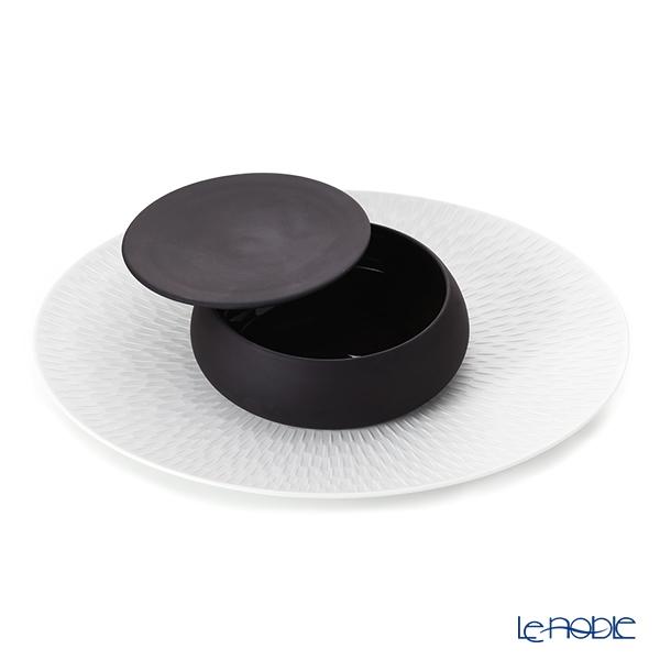 Degrenne Paris Gourmet Covered Casserole 14cm & Gourmet Plate Oval Set