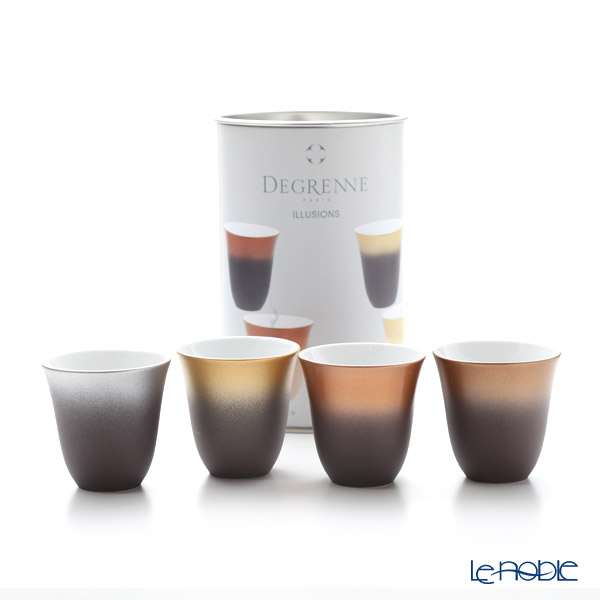 Dogrene 'Illusions' Cup 70ml (set of 4 colors)