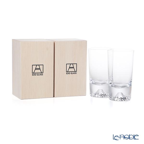 【伝統工芸】田島硝子 富士山グラス ミニタンブラー ペア 150ml TG20-015-MT 【田嶌】【Fujiグラス】