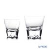 【伝統工芸】田島硝子 富士山グラスロックグラス 桜切子 大小 2点セット 【田嶌】【Fujiグラス】