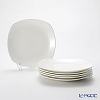 Primobianco 'White' Square Plate 18.5x18.5cm (set of 6)