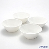 Primobianco 'Wave' Bowl 17.5cm (set of 4)