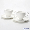 Primobianco Footed shape Coffee cup & saucer 2 pcs.