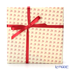 Gift 'Lily (Fleur-de-lis)' Red Wrapping Paper with Cross Ribbon