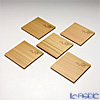 TAKANO CHIKKO 5 pcs cedar mini plate set (cherry motif)