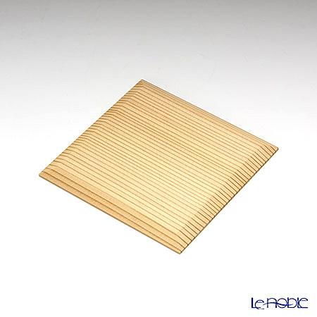 Takano Chikko / Cedar Craft 'Frog' Square Flat Plate 10x10cm (set of 5)