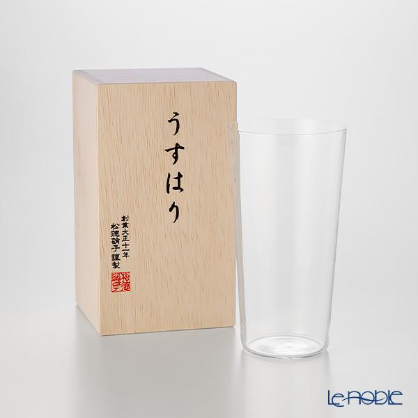 松徳硝子 うすはりタンブラー(L) 【木箱入】