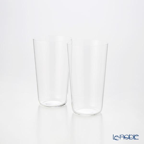 Shotoku Glass 'Usuhari' Tumbler 85ml (SS / set of 2 with wooden box)