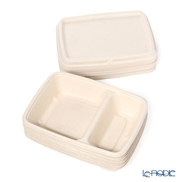 Sabart Eco Plate 6 x 9 MP46229F & MP51601F300 Deep tray 2 combo with lid 15 pieces Pulp