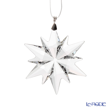 Swarovski 'Christmas Ornament - Little Star & Bell (Drop)' [Annual Edition 2017] Home Display (set of 3)