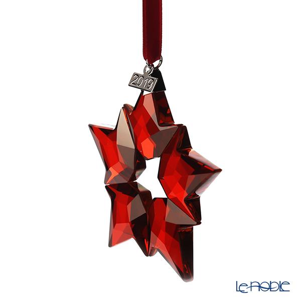 Swarovski 'Christmas Ornament - Red Star' [Annual Edition 2019] Home Display (set of 3)