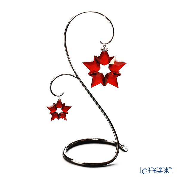 スワロフスキー クリスマスオーナメントセット レッド クリスマスオーナメント&リトルスターオーナメント 2019年度限定生産品