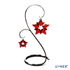 Swarovski 'Christmas Ornament - Red Star' [Annual Edition 2019] Home Display (set of 3)