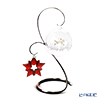 Swarovski 'Christmas Ornament -Red Star & Ball (Snowflake)' [Annual Edition 2019] Home Display (set of 3)