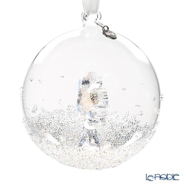Swarovski 'Christmas Ornament - Little Star & Ball (Snowflake)' [Annual Edition 2019] Home Display (set of 3)