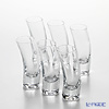 Flower decoration transformation shot glass OC2002 70 ml 6-piece set