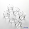 Flower decorated cube Bowl OC2004 65ml 6-piece set