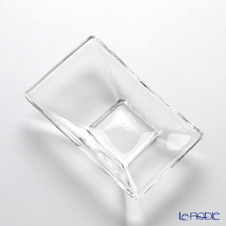 Toyo Sasaki Glass 'Hana Kazari' Rectangular Dish 8.5x5.5cm (set of 6) OC2004 东洋佐佐木玻璃 '花饰' 方形碗 (6件套)