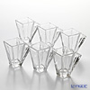 Flower decorated square Cup TS44002 45ml 6-piece set