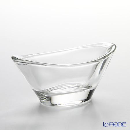 Toyo Sasaki Glass 'Hana Kazari' Oval Bowl 10x5cm (set of 6) TS44008 东洋佐佐木玻璃 '花饰' 椭圆碟 (6件套)