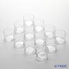 Toyo Sasaki Glass 'Hana Kazari' Stacking Bowl 77ml (set of 12) B-09117 东洋佐佐木玻璃 '花饰' 叠碗 (12件套)